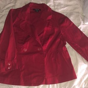 Red Style and Co jacket